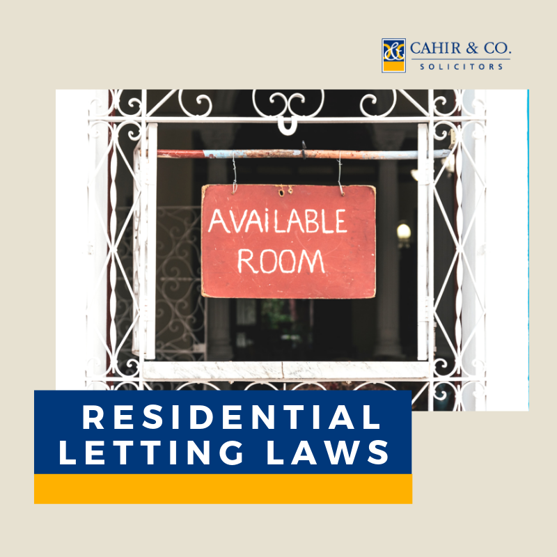 Residential Letting Laws