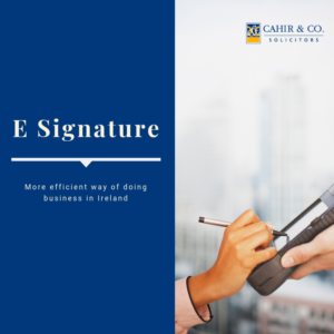 E signature Laws in Ireland