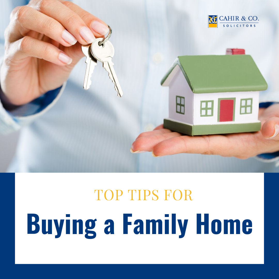 Top Tips When Buying a Family Home